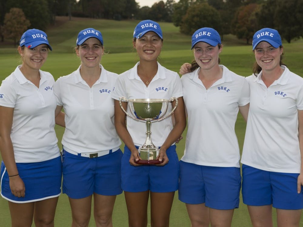 The Blue Devils won at the home of PGA's Tour Championship Wednesday.