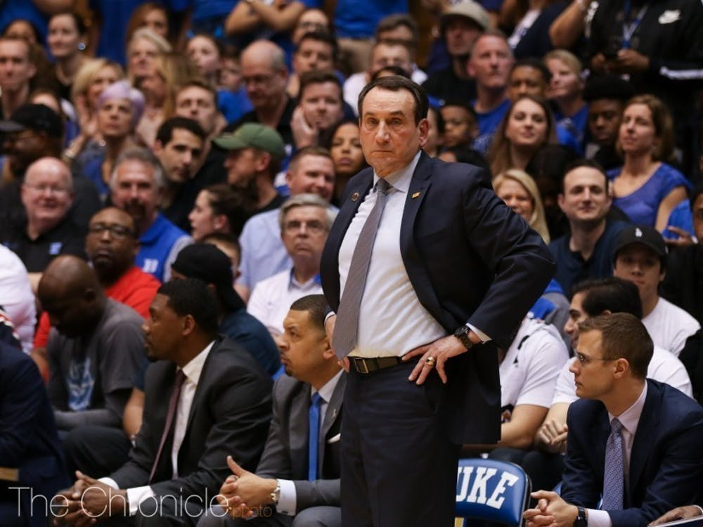 The 2014-15 season was the last time Duke had a female manager.