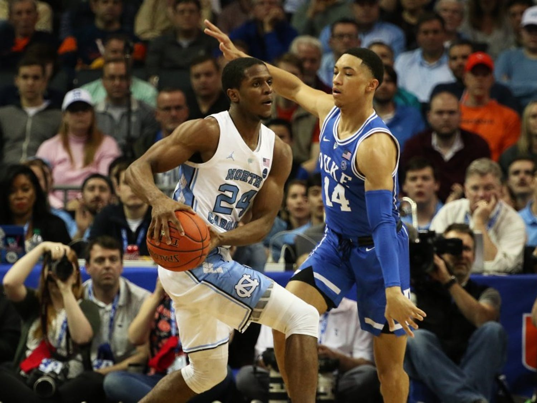 Jordan Goldwire's defense has helped Duke all season.