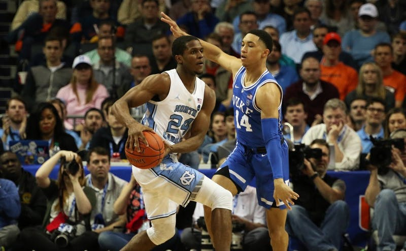 Jordan Goldwire harassed the Tar Heel guards Friday.