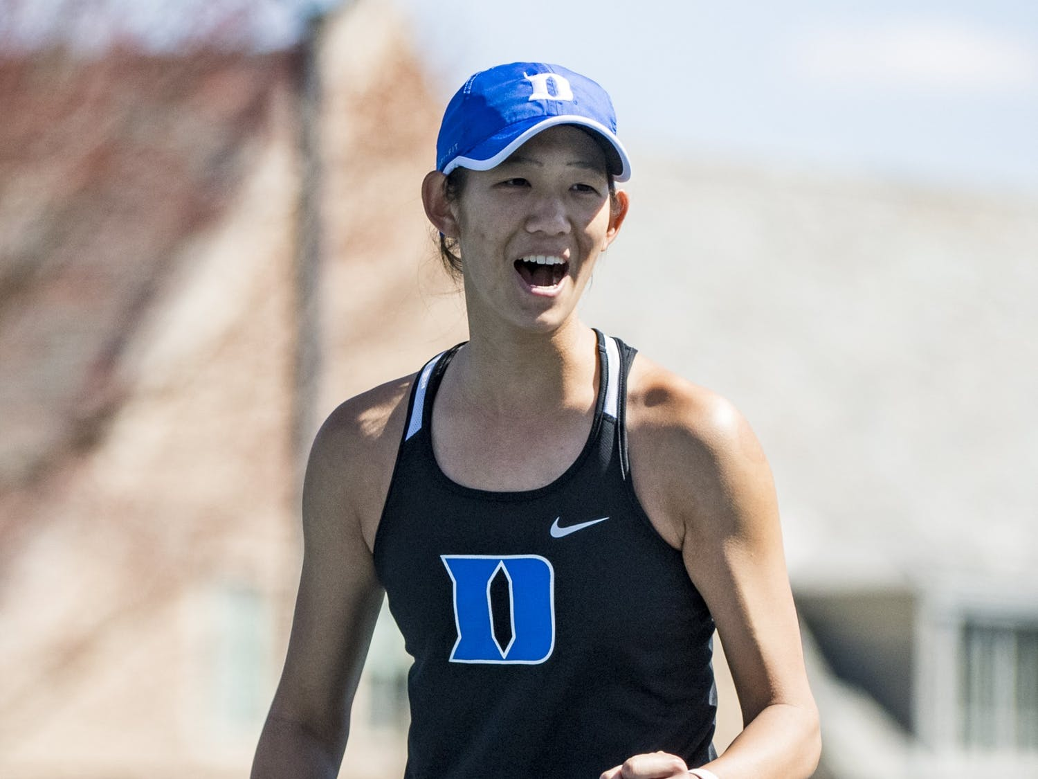 Graduate student Meible Chi was key to the Blue Devils' impressive weekend.