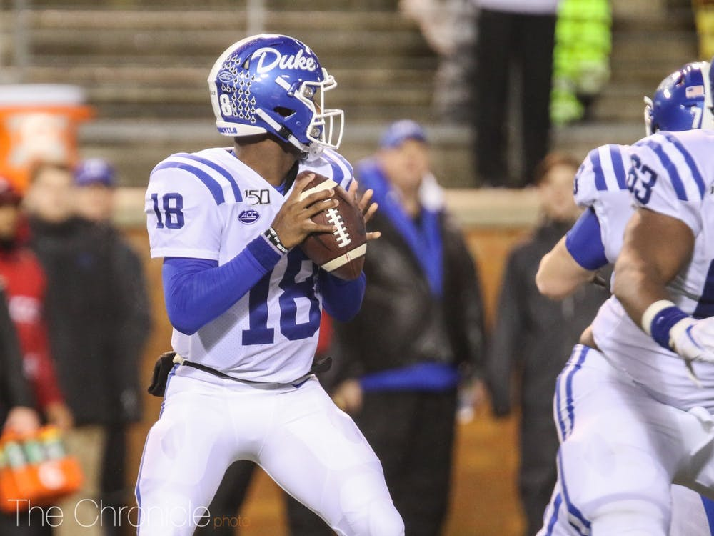 <p>Quentin Harris will likely be playing his last game in a Duke uniform Saturday.</p>