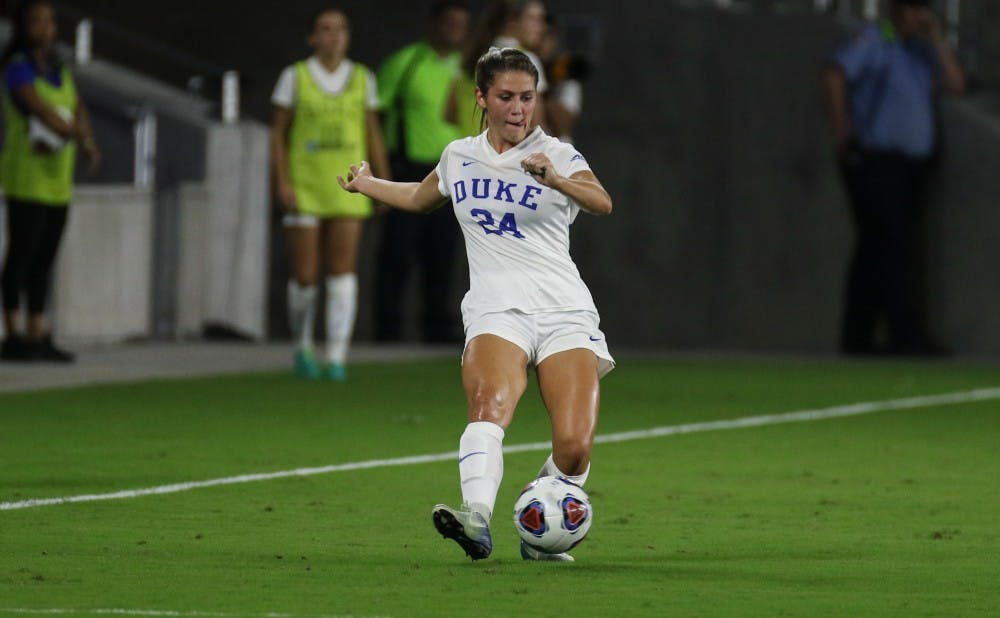 15fef2444b0d  Beautiful to be strong   Duke women s soccer s Morgan Reid confronts  social media critics