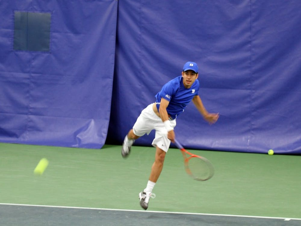 Senior Bruno Semenzato and the Blue Devils will try to kick their season off on a high note against Michigan State Friday.