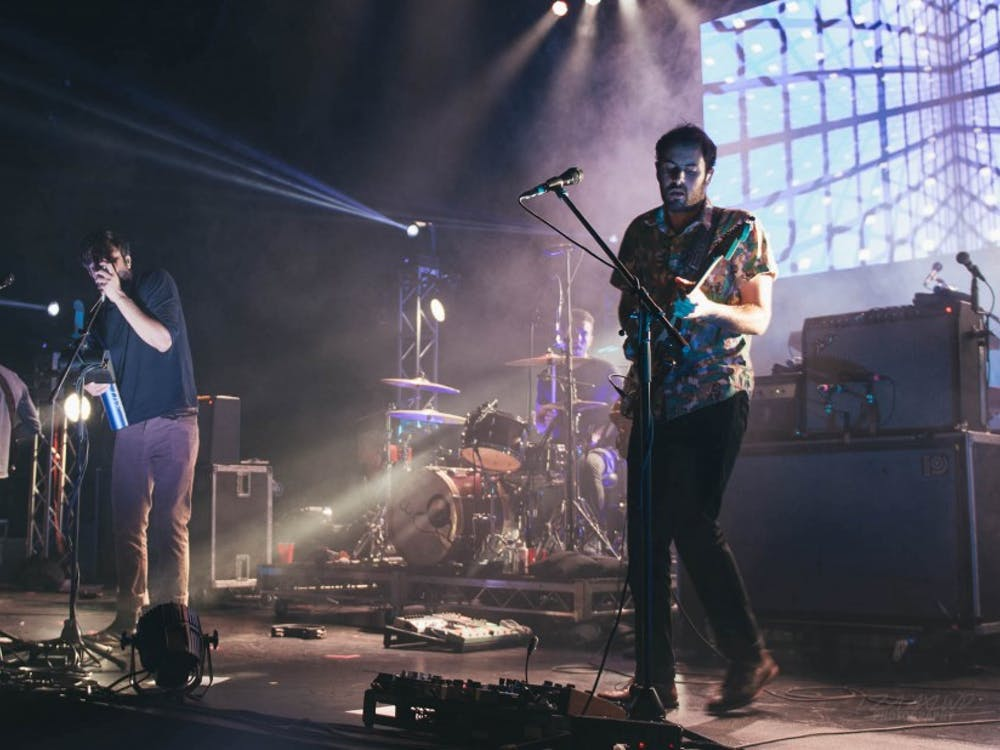 "Young the Giant, pictured in 2014, recently released their fourth studio album, ""Mirror Master."""