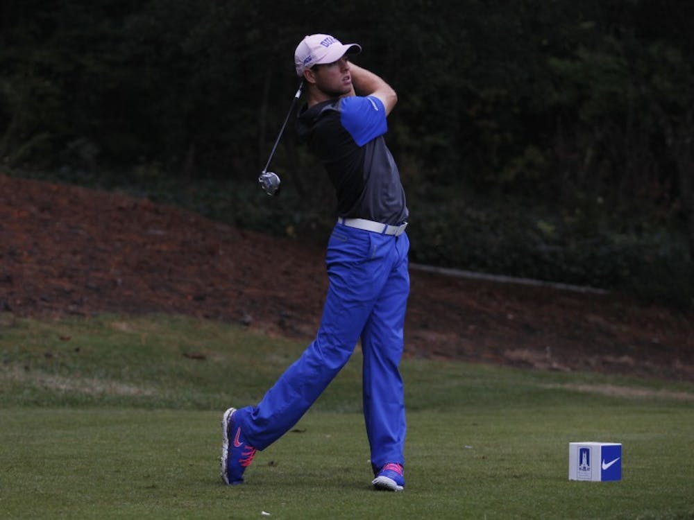 Max Greyserman finished tied for eighth at the Blue Devils' first tournament of the spring in La Quinta, Calif.