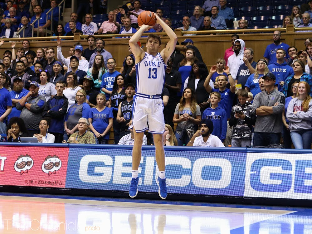 Joey Baker displayed scoring potential in Wednesday night's contest.
