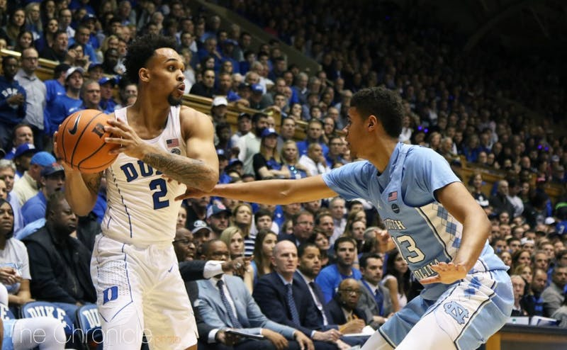 Trent was a weapon from deep for Duke in his freshman season.