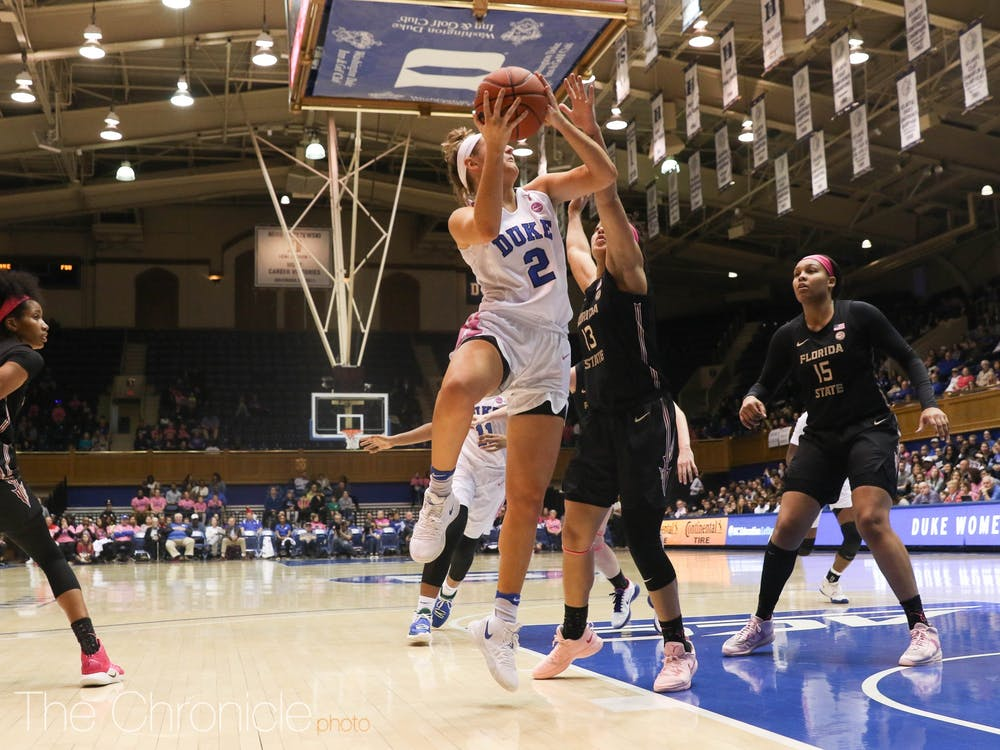 <p>Haley Gorecki's ability to get to the basket gives opposing defenses headaches.</p>