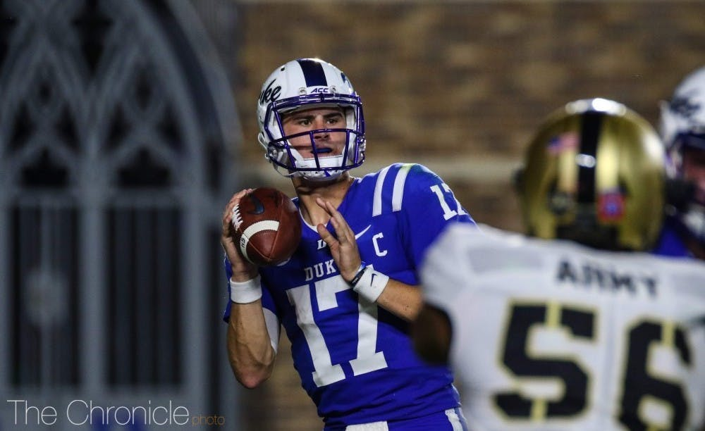 Starting quarterback Daniel Jones wound up just missing two games with a broken collarbone, as he will return Saturday night.