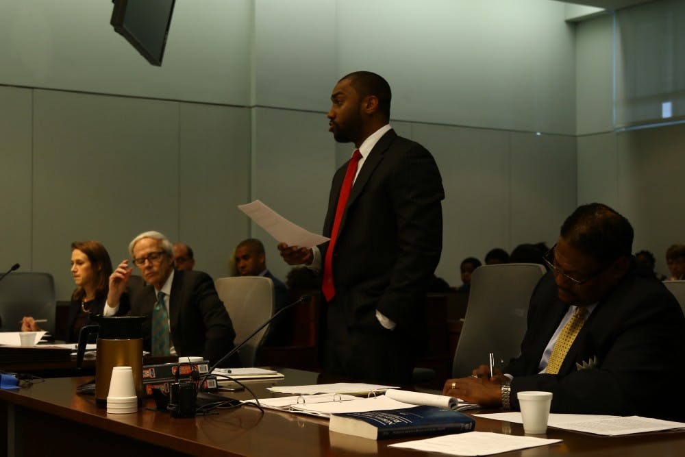 <p>Attorneys representing Duke and contract parking employee Shelvia Underwood argued a motion to dismiss a recently-filed lawsuit Tuesday morning.</p>