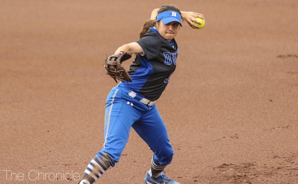 <p>Rachel Abboud sparked Duke's offense.</p>
