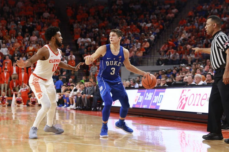 Grayson Allen sparked the Blue Devils offense early, scoring 17 points in the first half.