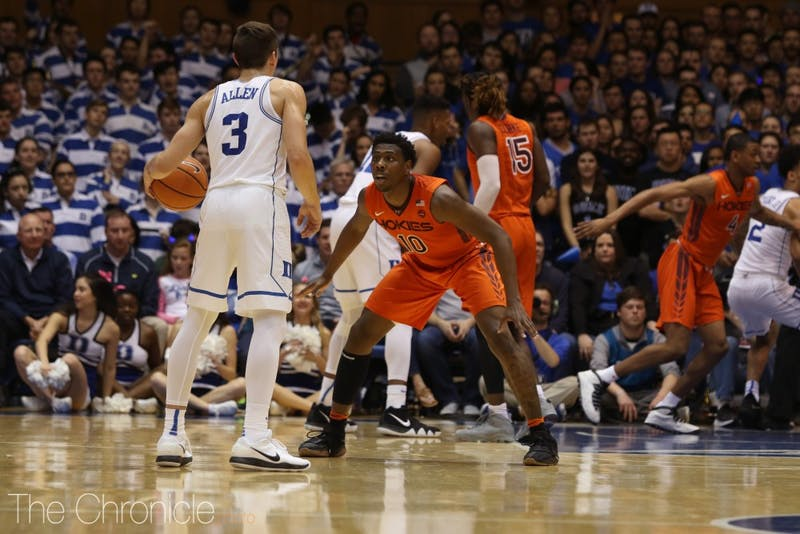 Allen will need to keep producing for Duke against Clemson.