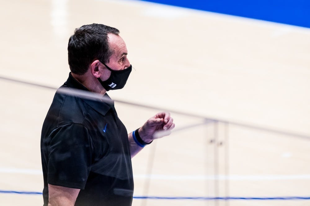 Coach K spoke to the media Saturday for the first time since the riots in Washington, D.C.
