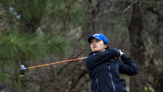 Senior Jaravee Boonchant led the Blue Devils this past Saturday in the Big Four Challenge.