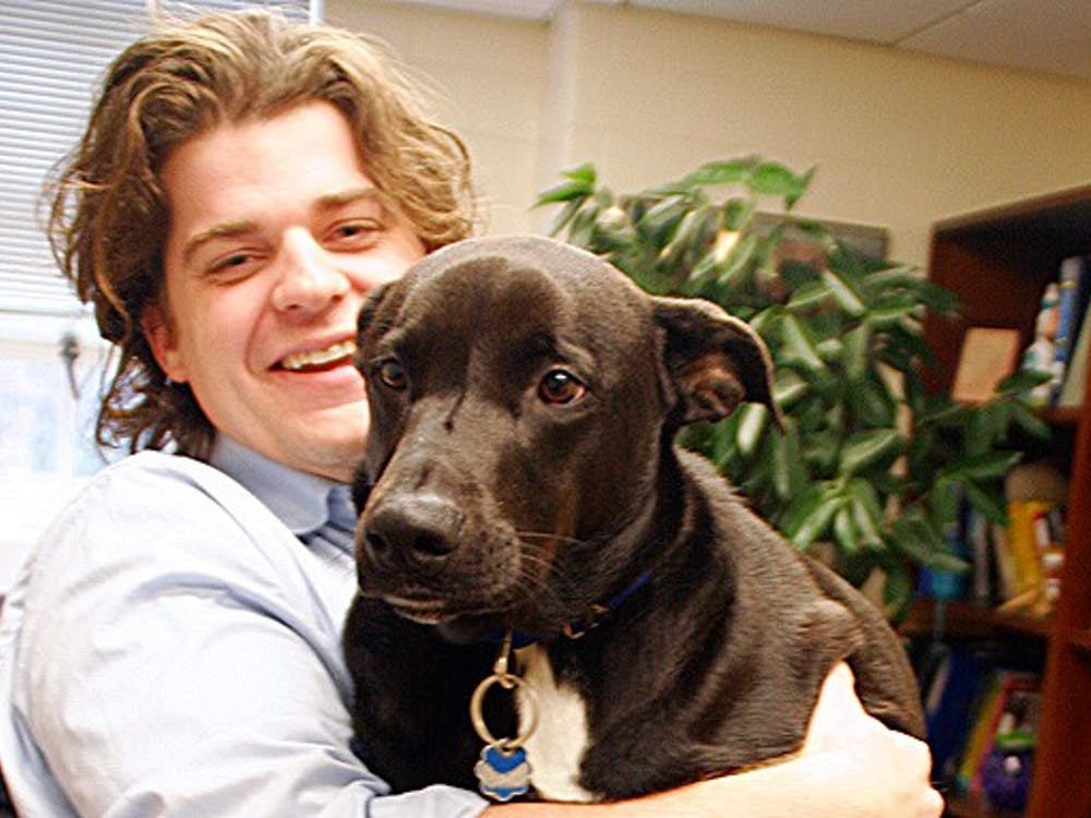 Brian Hare is the director of the Duke Canine Cognition Center, which studies dogs to better understand their cognitive abilities.