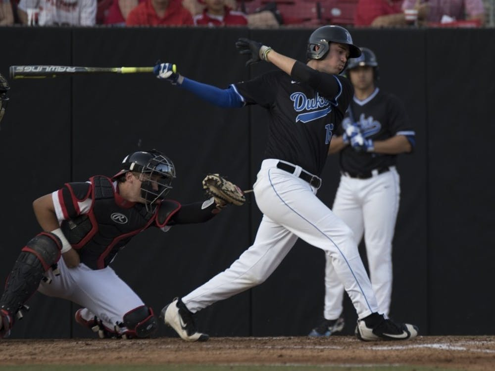 Michael Smiciklas hit his first career home run Friday to help Duke knock off No. 7 Florida State as the Blue Devils try to earn their first NCAA tournament berth since 1961.