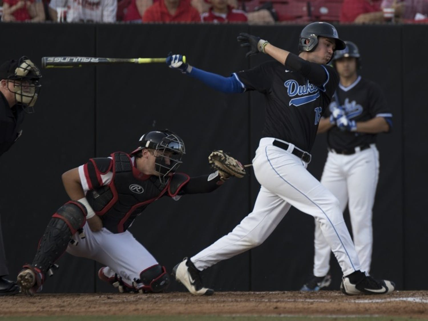 MichaelSmiciklas hit his first career home run Friday to help Duke knock off No. 7 Florida State as the Blue Devils try to earn their first NCAA tournament berth since 1961.