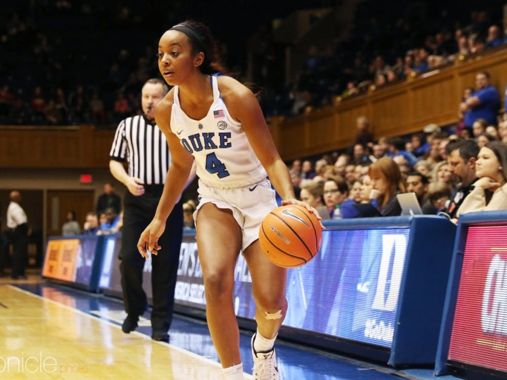 Former Duke star Lexie Brown has struggled to find a role for the Connecticut Sun.