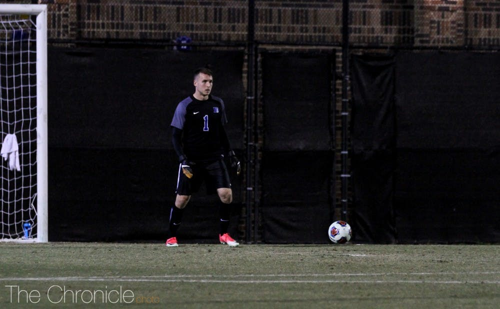 <p>Will Pulisic saved Fordham's first shot of the shootout, but let eight of its last nine attempts get by him.</p>