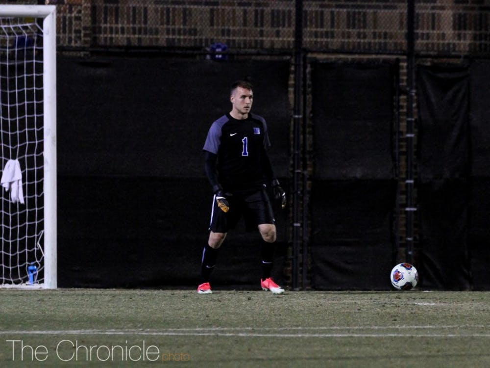 Will Pulisic saved Fordham's first shot of the shootout, but let eight of its last nine attempts get by him.