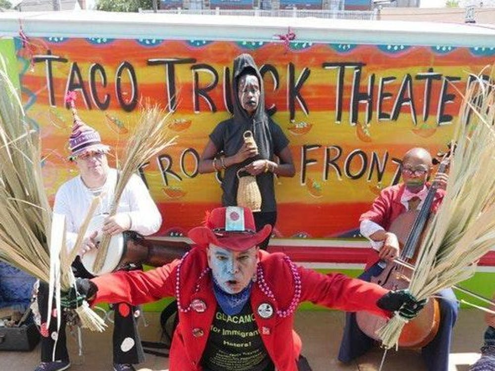 "Rodrigo Dorfman's documentary ""This Taco Truck Kills Fascists"" screened at the Rubenstein Film Theater Sept. 26."