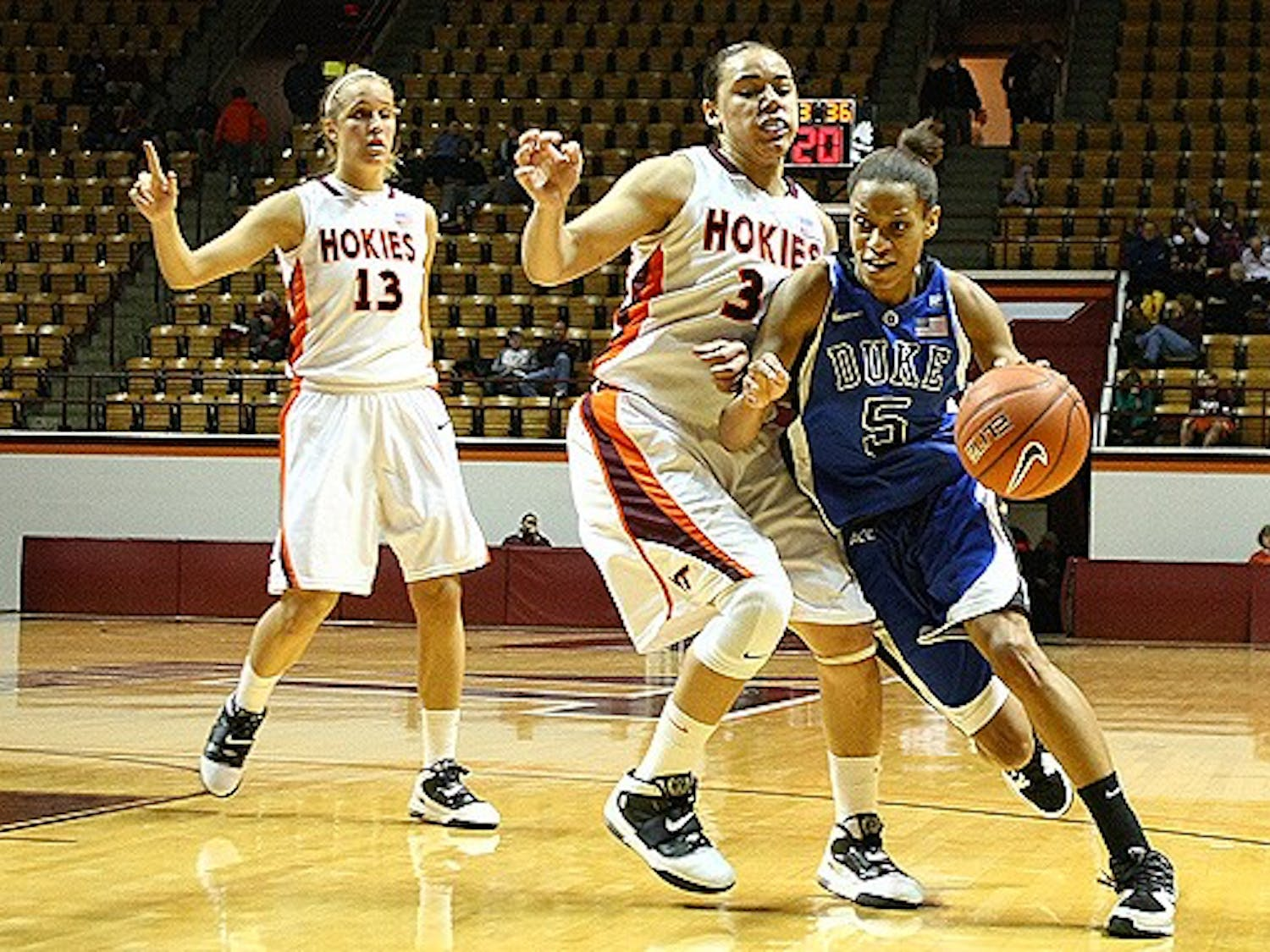 Allison Vernerey, who scored 15 in Duke's last game, will look for a similar performance this weekend.