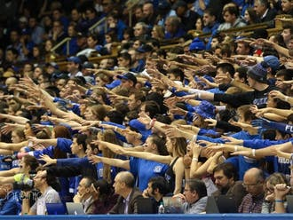 The Cameron Crazies are back inside a full Cameron Indoor Stadium for the first time since March 2020.