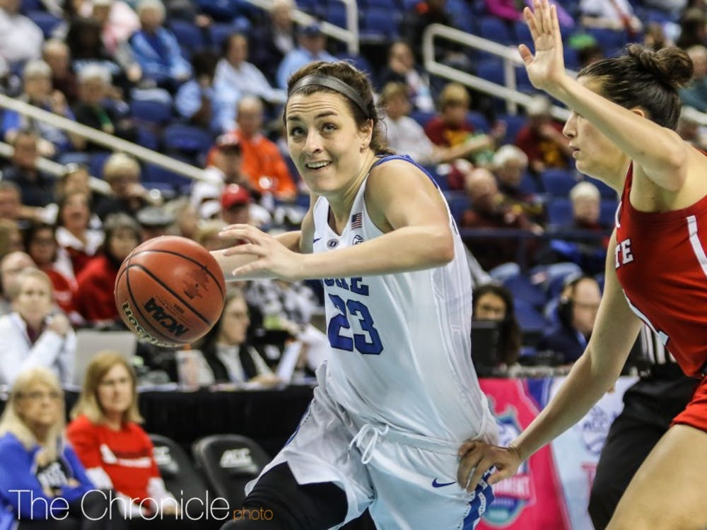 The Blue Devils top two scorers from last season have left for the WNBA.