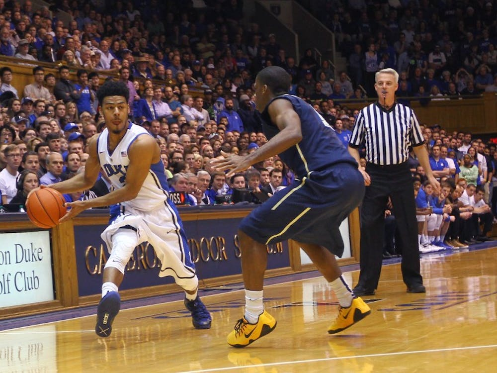 The ability of Quinn Cook and company to be strong with the ball and contain D'Angelo Harrison are two of the keys to Duke-St. John's Sunday afternoon.