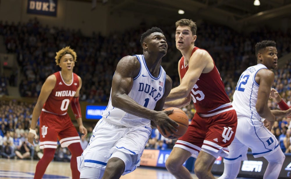 <p>After Zion Williamson's stellar freshman year on the court, he's now headed to a lucrative NBA career, but he first has some business to settle.</p>
