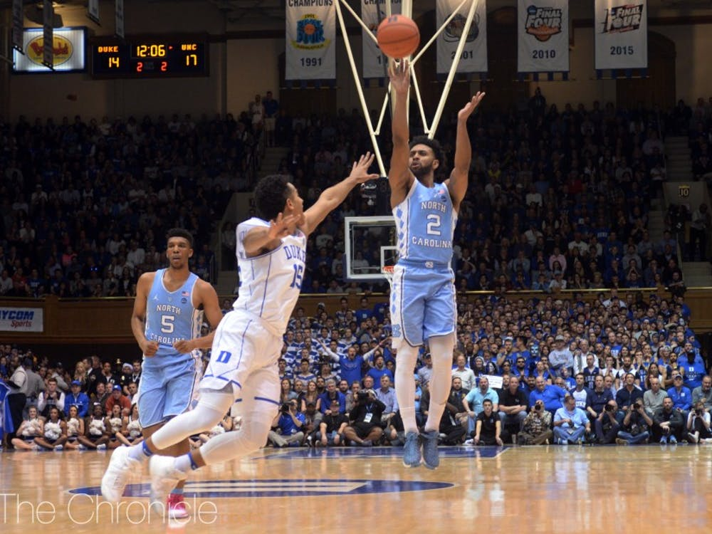 Joel Berry II has not shot well in his final year as a Tar Heel.
