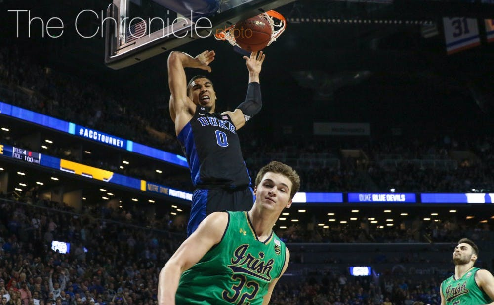 <p>Tatum's dunk through contact with 25 seconds left sealed the win.&nbsp;</p>