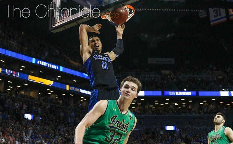 Tatum's dunk through contact with 25 seconds left sealed the win.