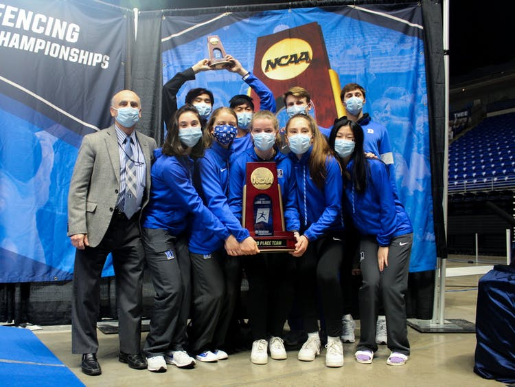 The third-place finish was the best for Duke at the NCAA Championships in program history.