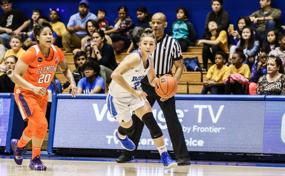 <p>Miela Goodchild has emerged as a consistent threat from deep this season.</p>