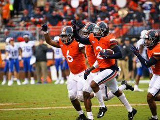 Virginia dominated Duke all afternoon Saturday, handing the Blue Devils their third ACC loss of the season.