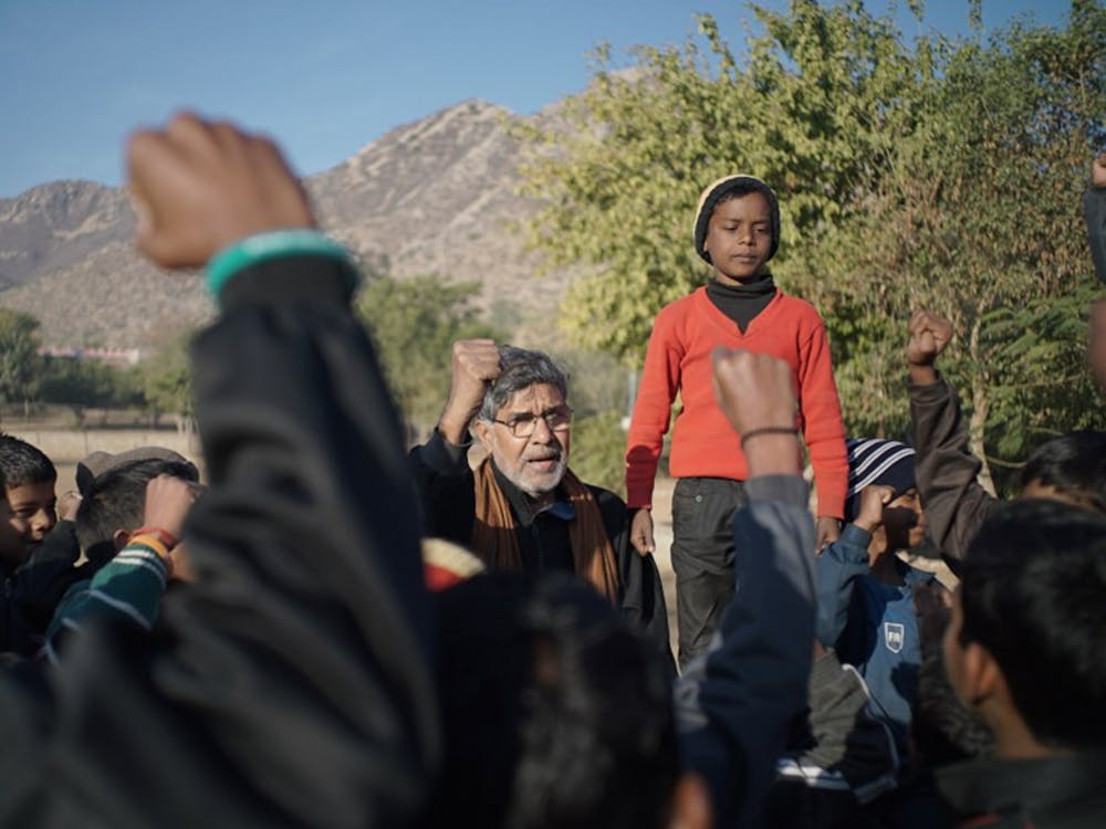 """Kailash"" follows Nobel Prize winner Kailash Satyarthi's fight against child trafficking. The film was awarded the U.S. Grand Jury Prize: Documentary at the Sundance Film Festival."