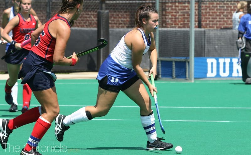 Senior Rose Tynan was named Co-ACC Player of the Week after strong performances last weekend.