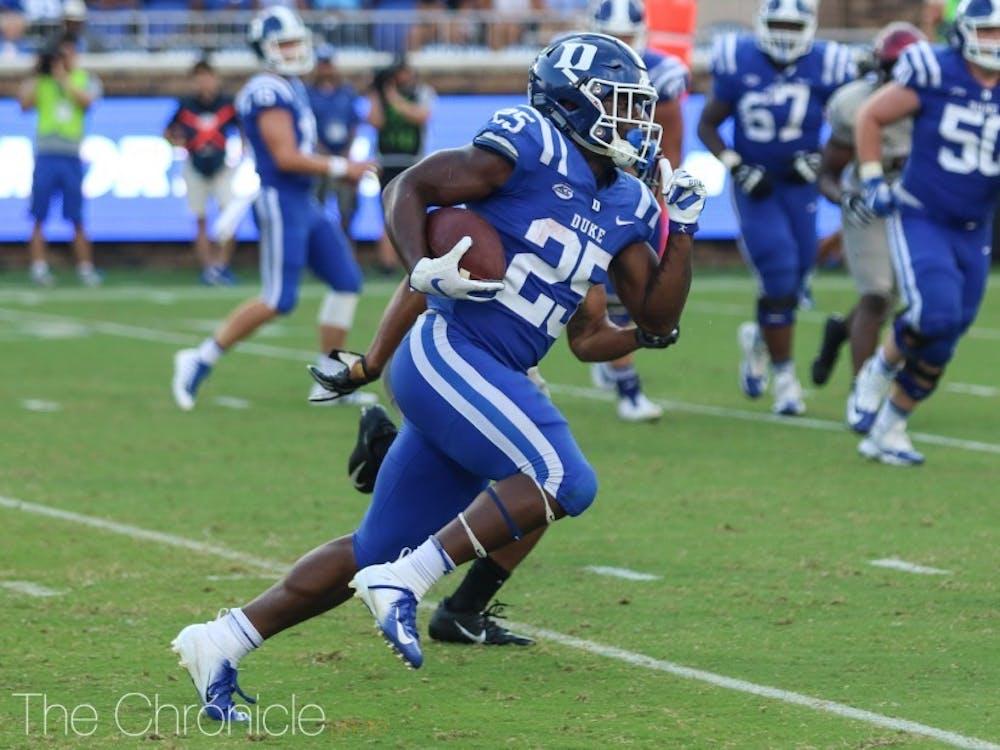 Deon Jackson ran all over Virginia Tech's run defense.