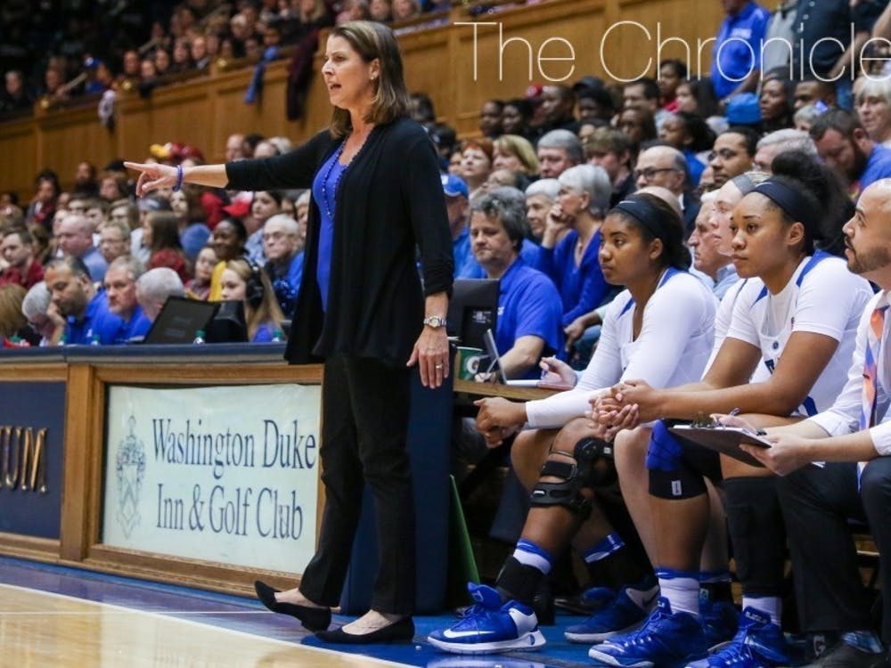 For the first time since 2007, a new coach will be roaming the sidelines for Duke women's basketball.