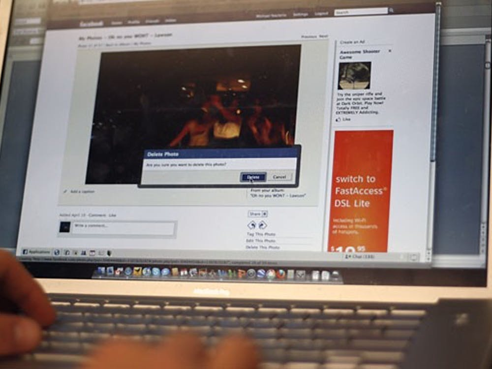 Some students are actively protecting their privacy online by deleting their content off social networking Web sites such as Facebook and MySpace.
