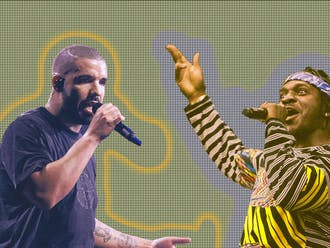 """Drake's 2018 album """"Scorpion"""" clocks in at a whopping 90 minutes in length; Pusha T's 2018 release, """"Daytona,"""" is a slim 21 minutes."""