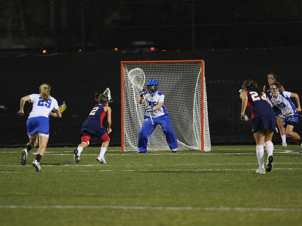 Goalkeeper Mollie Mackler battled illness and seven Commodore free position opportunities Sunday.