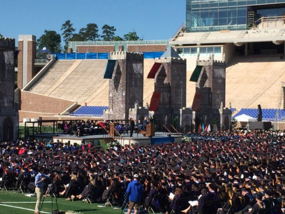 Duke awarded approximately 5,300 undergraduate, graduate and professional degrees at this year's commencement ceremony.