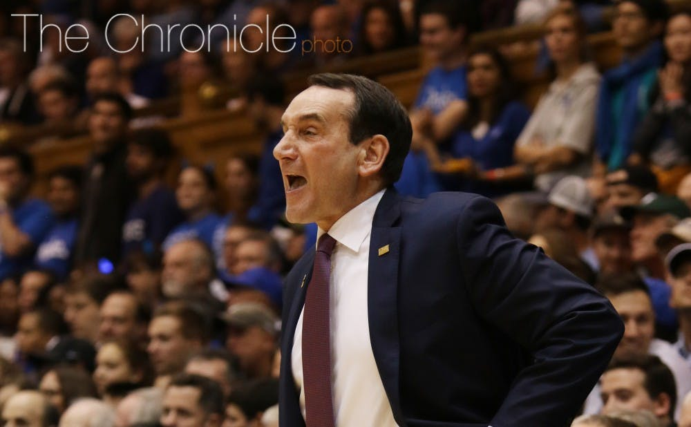 <p>For the second time in as many days, Mike Krzyzewski and the Blue Devils have picked up a top recruit&mdash;this time for the Class of 2017.</p>