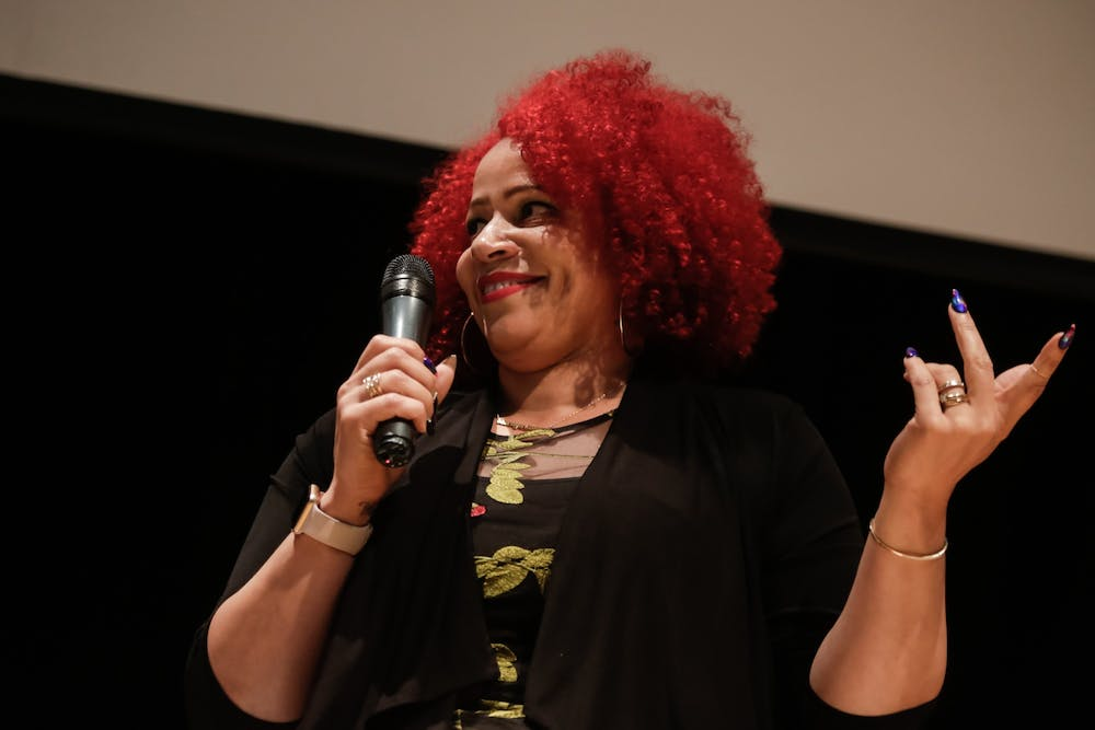 <p>Nikole Hannah-Jones was denied a tenured position by the UNC Board of Trustees following conservative criticism.</p>