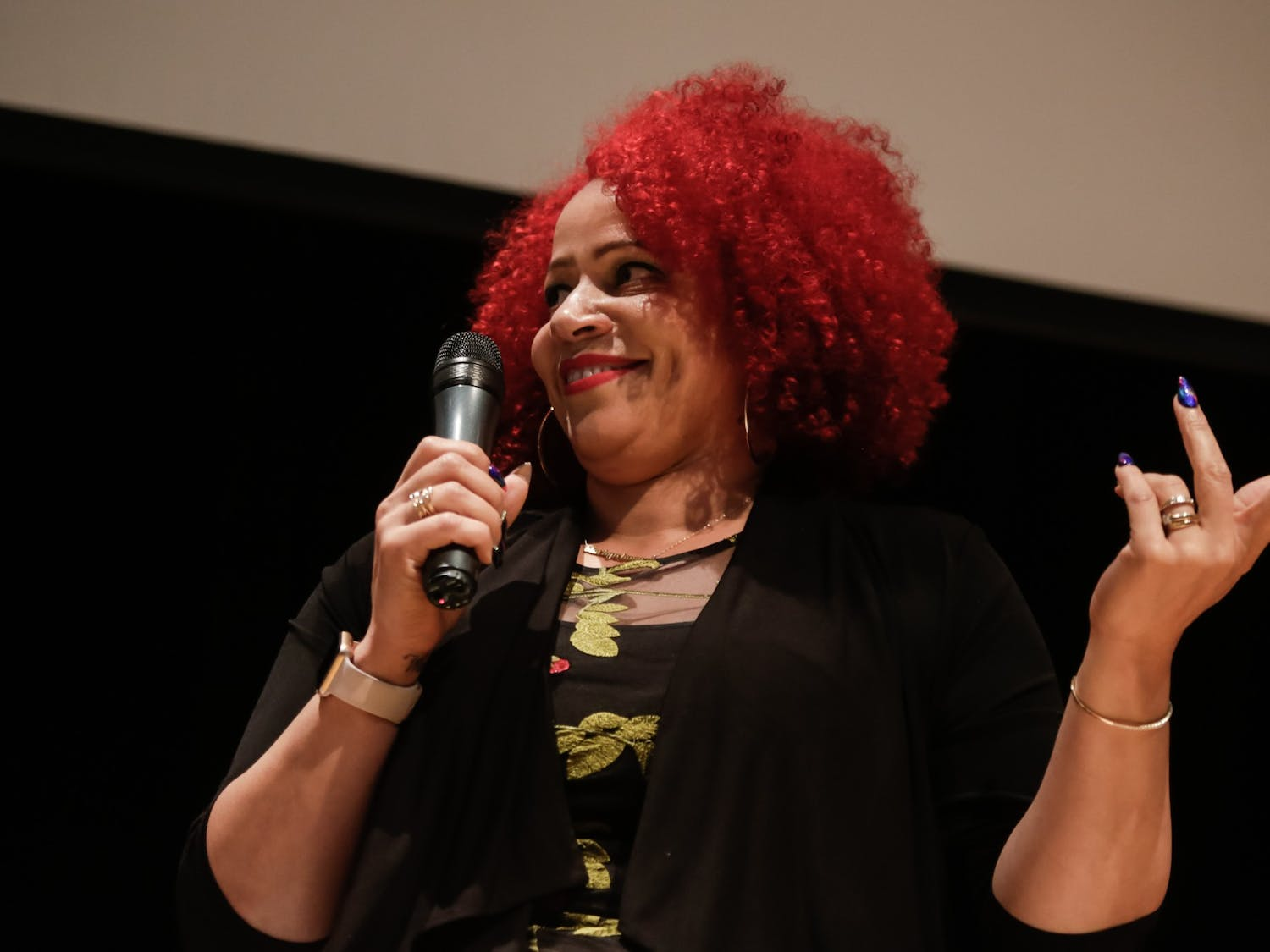 Nikole Hannah-Jones was denied a tenured position by the UNC Board of Trustees following conservative criticism.