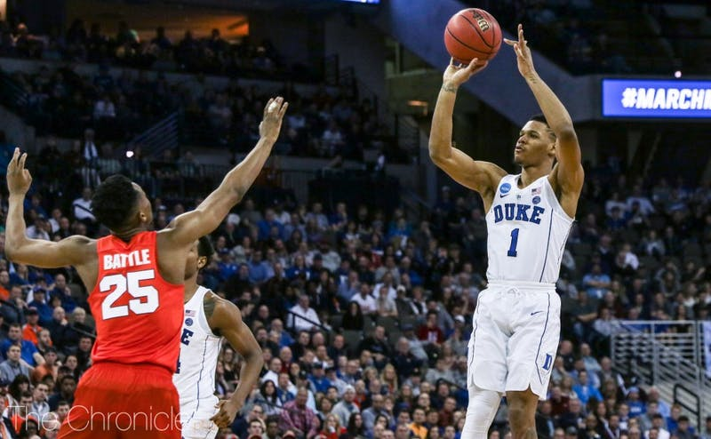 Trevon Duval often shied away from his strength this season, opting for triples rather than drives to the basket.